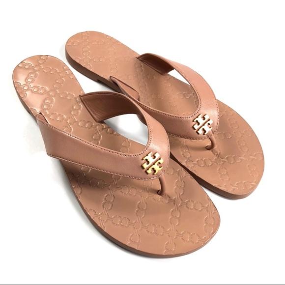 Tory Burch Monroe Thong Sandal Sz 9